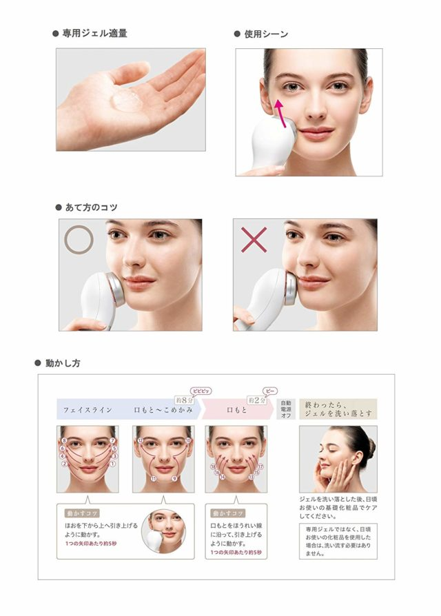 美顔器 Panasonic パナソニック フォトフェイシャル 家庭用 美容